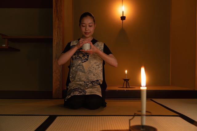 画像: 京都・奥嵐山の静けさに身を置き、ろうそくの炎に安らぐ時間 香木の香りを聞き分ける「寒夜の香あそび」