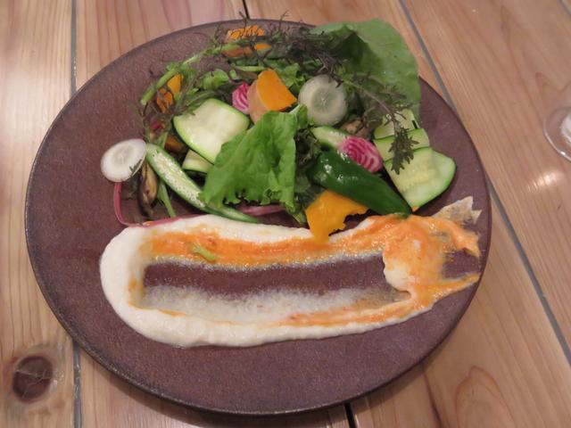 画像: サスティナブル野菜のディップサラダ 1,200円(税抜)