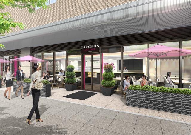 画像5: パリのカフェさながらにスタイルにあわせてAll Dayで利用できる 「FAUCHON LE CAFE」がオープン