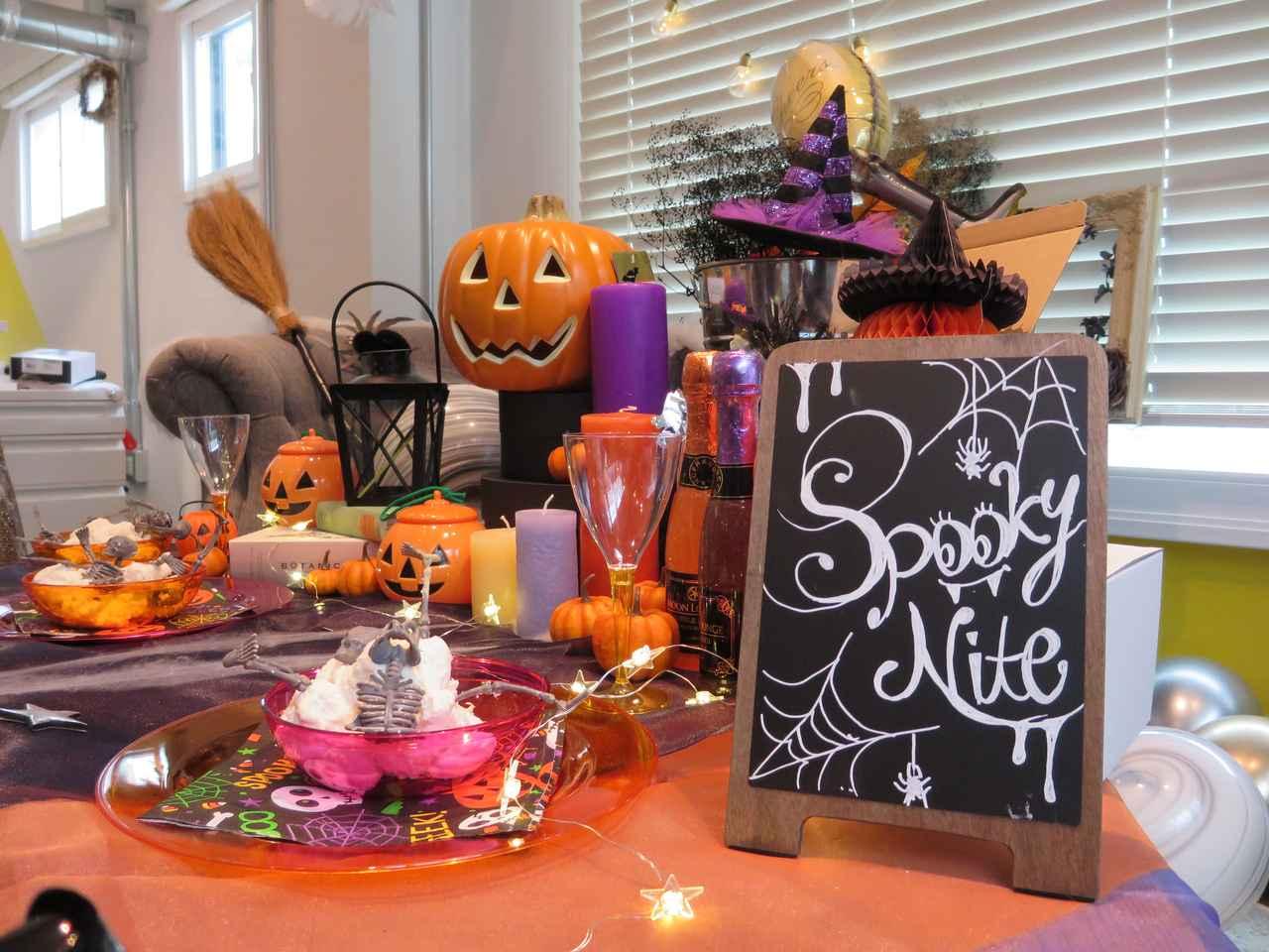 画像10: ハロウィンパーティーの準備スタート