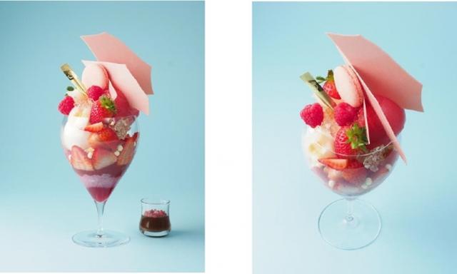 画像1: ショコラティエが創るパティスリー DEL'IMMOピンクスイーツ×ショコラ!マリー・アントワネットの華やかでゴージャスな世界観を表現!