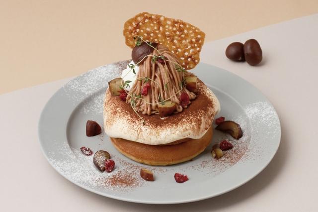 """画像6: 「秋映え」スイーツは """"まるごと"""" かぼちゃ・林檎がのったパンケーキで決まり!"""