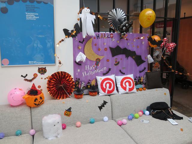 画像12: ハロウィンパーティーの準備スタート