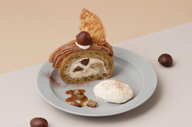 """画像8: 「秋映え」スイーツは """"まるごと"""" かぼちゃ・林檎がのったパンケーキで決まり!"""