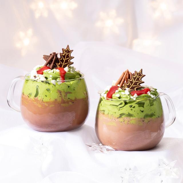 画像1: リンツから、チョコレートのぬくもりがうれしい「抹茶ホットチョコレートドリンク」