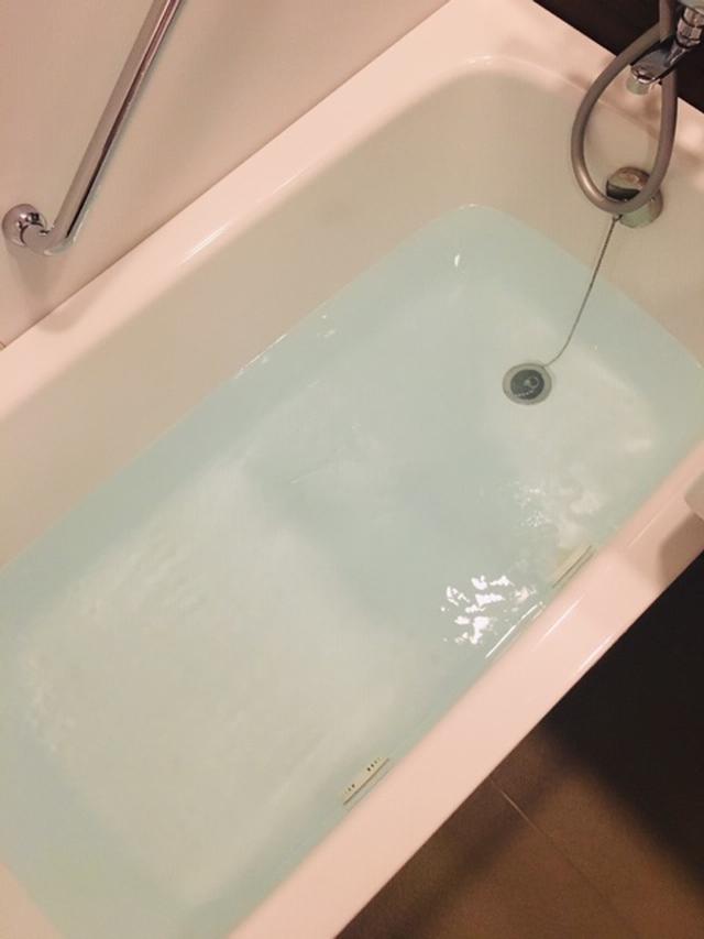 画像: お湯を張ってスイッチオン!