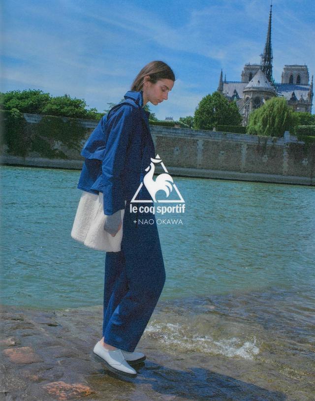 """画像1: """"le coq sportif+NAO OKAWA""""の ファーストコレクションが発売"""