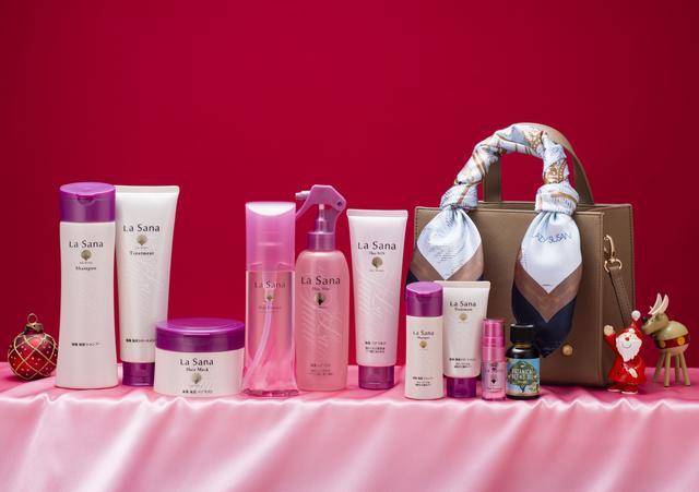 画像2: Xmas限定!ラサーナの人気製品を詰め込んだヘアケアコフレが新発売!