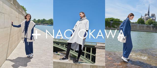 画像: le coq sportif + NAO OKAWA - AW 2018 LE URBAN STYLE - le coq sportif [ルコックスポルティフ]