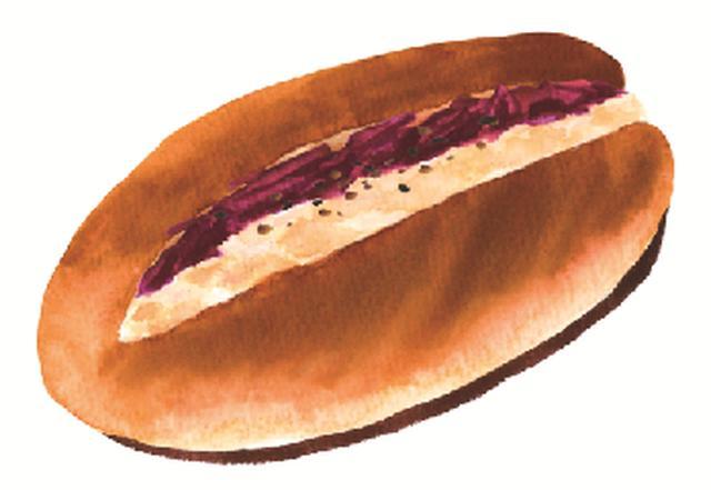 画像: チキン&ビーツ ほぐした柔らかいとり肉としゃきしゃきのレッドキャベツとビーツのサラダ