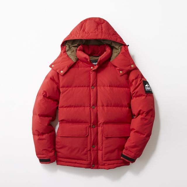 画像: <アウター>CAMP7 ダウンジャケット 品番:CP-4016001 カラー:レッド 10月下旬販売開始予定