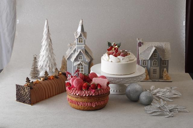 画像: 今年は11種類のクリスマスケーキコレクション