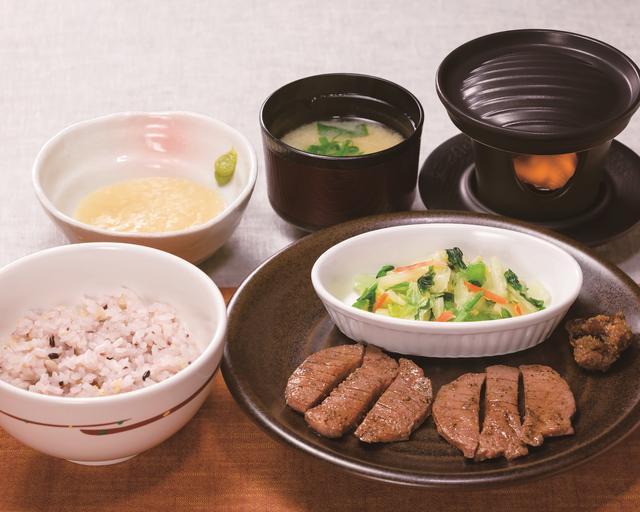 画像: 牛たん焼き定食 [牛たん6切れ] 1,099円  / [牛たん9切れ] 1,399円