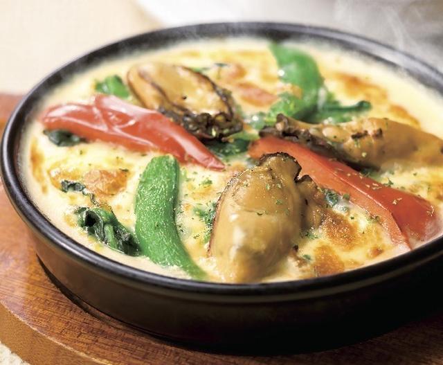 画像: <新登場> 牡蠣と4種の野菜のクリーミードリア 599円