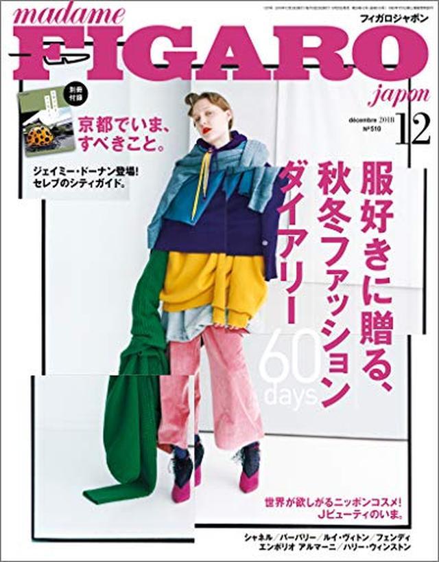 画像: madame FIGARO japon (フィガロジャポン) 2018年12月号[服好きに贈る、秋冬ファッションダイアリー60days] | |本 | 通販 | Amazon
