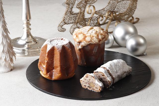画像: パンドーロ 2,200円(税別)(左) イタリアのクリスマスを象徴する伝統菓子パンドーロは、黄金(イタリア語でドーロ)のパンと呼ばれ、綺麗な黄金色のパン。バターをたっぷり使った、ふんわりとした柔らかな口当たりが特徴です。