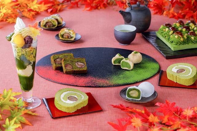 画像1: 京都・宇治茶の伊藤久右衛門「紅葉パフェ」