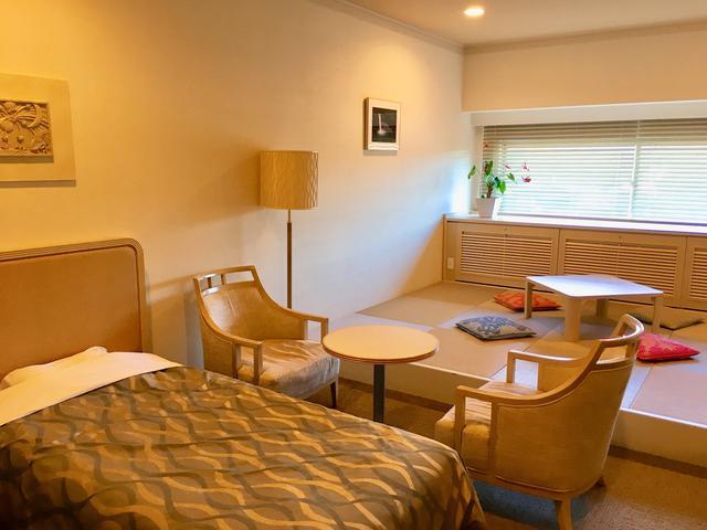 画像: 宿泊は一番新しい、モノリスタワーで!