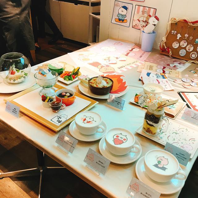 画像1: 「うさまる」をモチーフにしたインスタ映え料理がたくさん!!