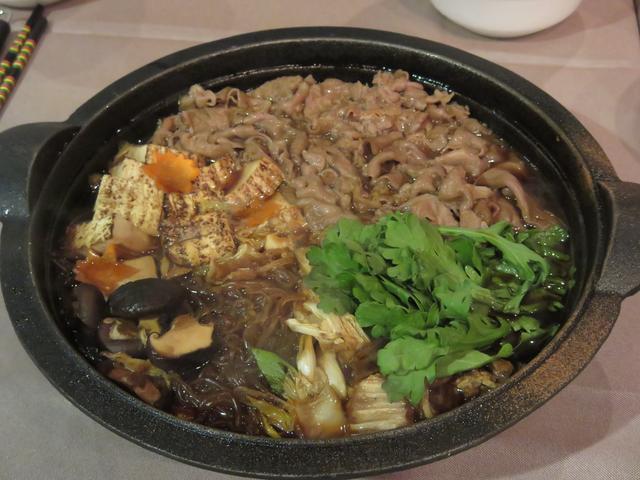 画像2: ⑤飛騨牛すき焼き鍋セット