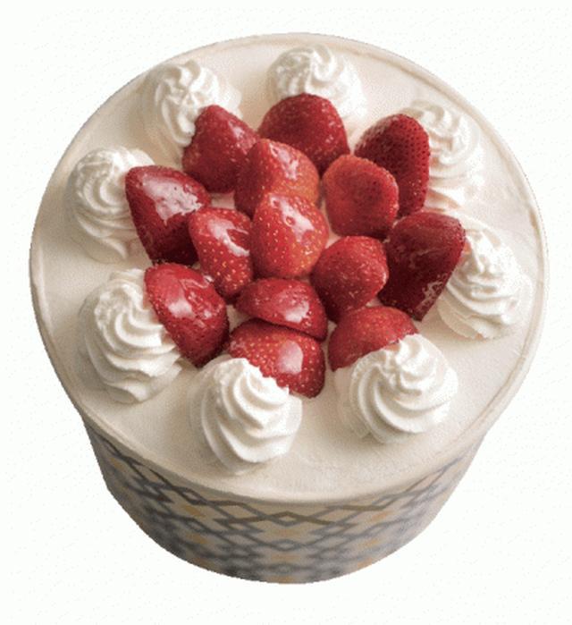 画像3: クリスマスや記念日におすすめのシフォンケーキ『ザ・パーティーシフォン(プレーン&いちごムース)』