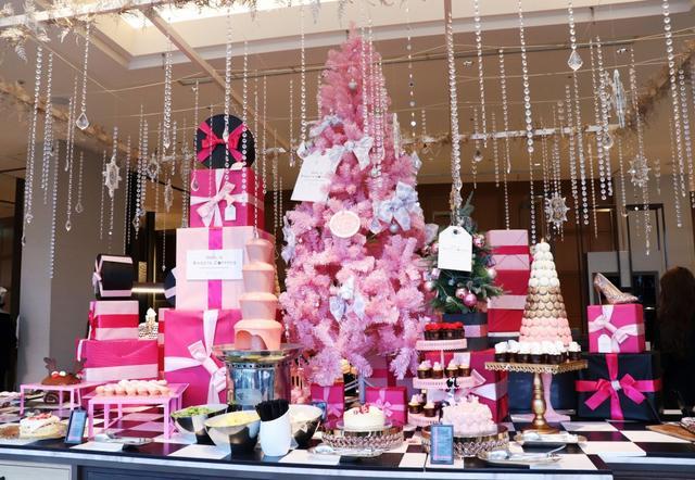 画像1: 【試食レポ】キラキラ女子達の「欲しい」がいっぱい詰まった大人可愛いクリスマスデザートビュッフェに潜入!!