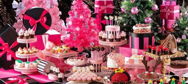 画像: 「ガールズ・スイーツコフレ」~クリスマスデザートビュッフェ~キラキラ女子達の「欲しい」がいっぱい詰まったスイーツとクリスマスの妖精達が大人可愛い! | お台場のホテルなら【ヒルトン東京お台場】