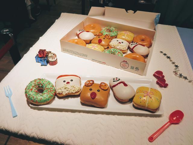 画像: かわいいクリスマスドーナツでパーティを