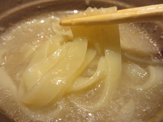画像: 鍋の〆はきしめん