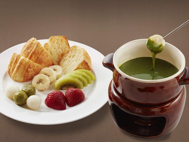 画像: 香る 抹茶ミルクのチョコフォンデュ  799円
