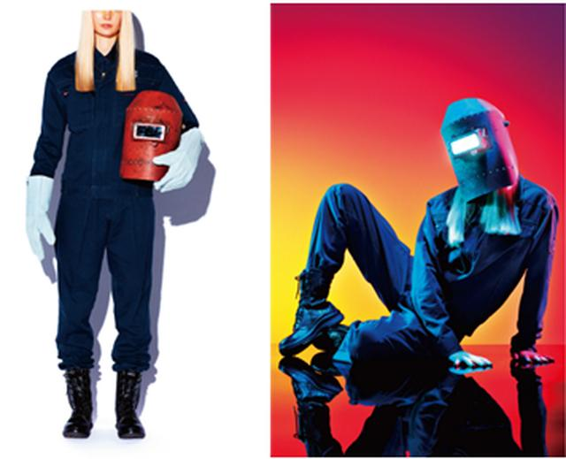 画像3: 中小企業のユニフォームだけを使用したファッションマガジン