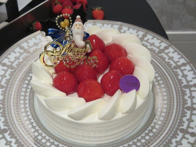 画像: クリスマスショートケーキ 15cm 4800円