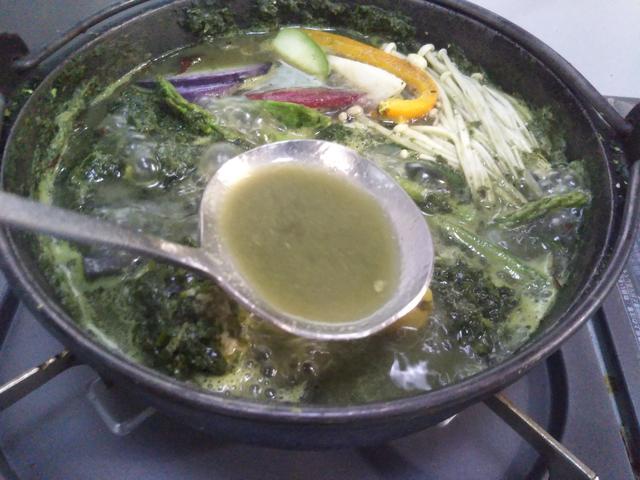 画像2: モリンガを使った「みどり鍋」