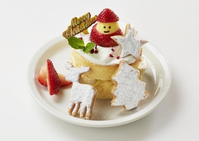 画像2: Butterが贈る、ホリデーシーズンならではのクリスマスパンケーキが登場