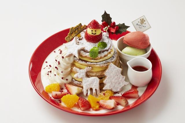 画像1: Butterが贈る、ホリデーシーズンならではのクリスマスパンケーキが登場