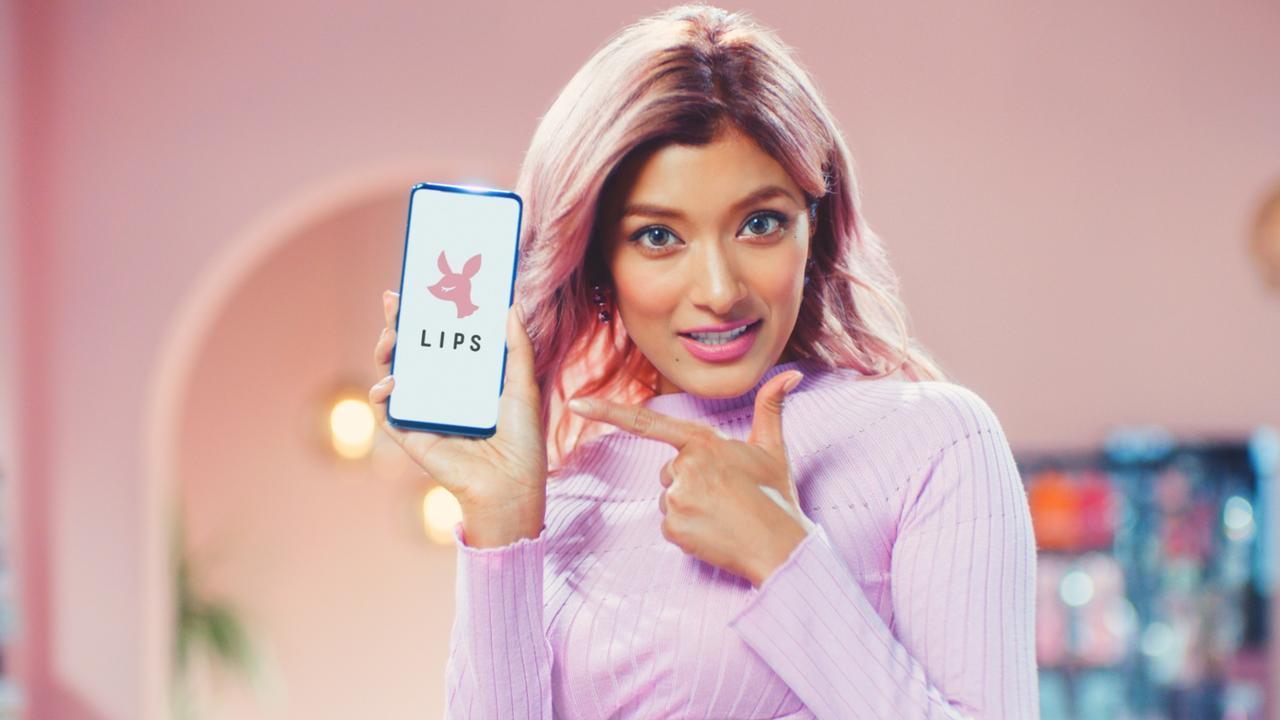 Images : 4番目の画像 - 「No.1コスメのクチコミアプリ「LIPS」が初TVCM」のアルバム - カワコレメディア | 最新トレンド・コスメ・スイーツなど女の子のためのガールズメディアです!