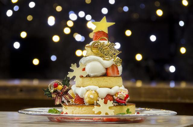 画像2: 「カフェ アクイーユ」からクリスマスパンケーキが登場!