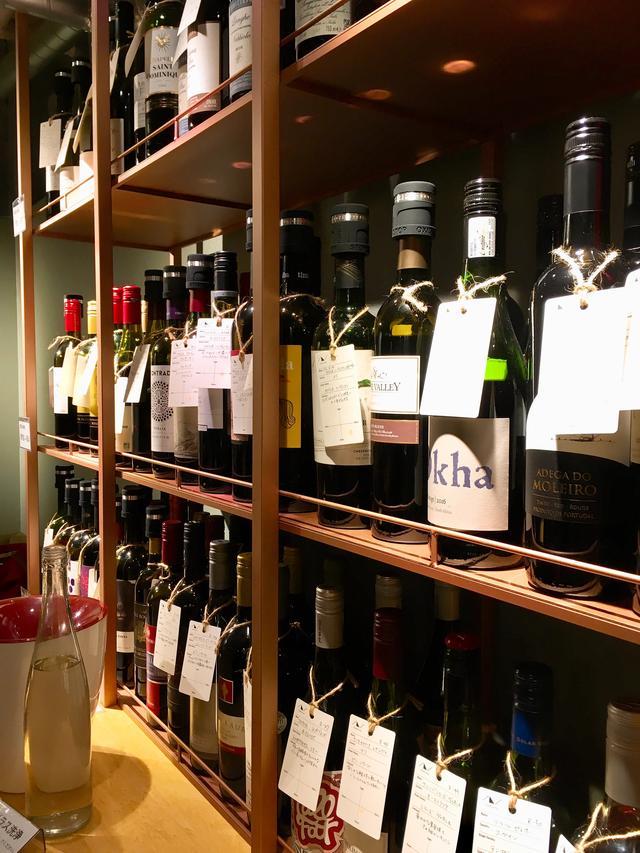 画像: ズラリと並ぶワインたち!これ全て飲み比べ放題です。