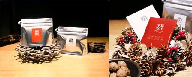 画像1: 丸山珈琲から2つのクリスマスシーンをイメージした限定コーヒー「クリスマスブレンド 赤/白」