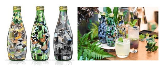 画像1: 「ペリエ」限定ボトル「PERRIER×WILD」が都内の人気バー5店舗で提供スタート