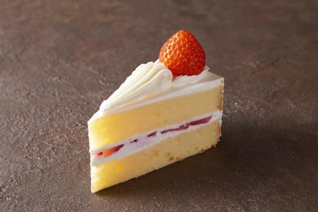 画像: ショートケーキ/580円 開業当時からのレシピを継承している伝統メニュー。