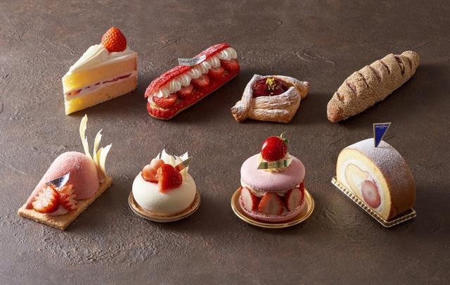 画像: 「Classic & New Delights ―Fraise―」~苺の風味と甘さを生かし誕生した新作5種のケーキ&2種のパン~