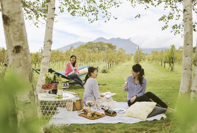 画像1: 金曜日の夜に出発、土曜日の朝を葡萄畑で過ごす宿泊プラン 「土曜日はヴィンヤードブランチ」