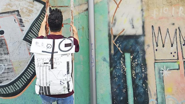 画像: アーティストのキャンバスみたいな個性派バッグ「Stiglo」(By Stiglo事務局) - クラウドファンディング | Kibidango【きびだんご】