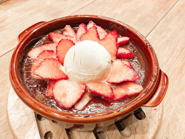 画像2: 極上のふわとろ『シルキーパンケーキ』と、いちごのコラボ!