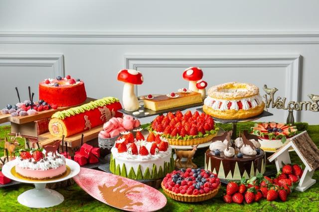 画像1: 公式サイト「赤ずきんちゃんのピクニック」をテーマにしたSNS映えする「ストロベリースイーツブッフェ」