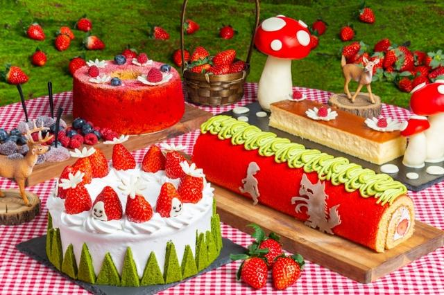 画像2: 公式サイト「赤ずきんちゃんのピクニック」をテーマにしたSNS映えする「ストロベリースイーツブッフェ」