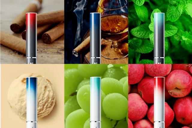 画像: 味はマスカット・アップル・バニラなど6種類のラインナップ。