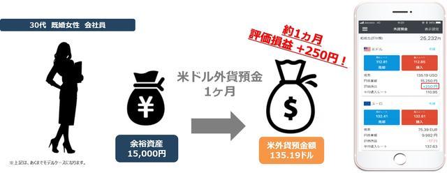 画像: 3.好金利が魅力的!1ドルから気軽に始める外貨預金