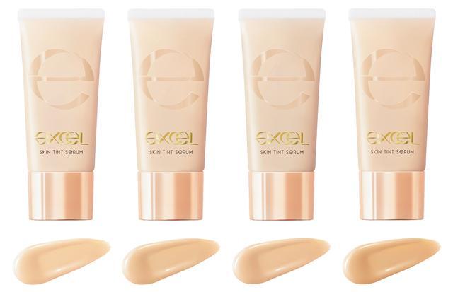 画像2: メイクアップブランド『エクセル』から 美容液81%のスキンケア感覚 「セラムファンデーション」発売